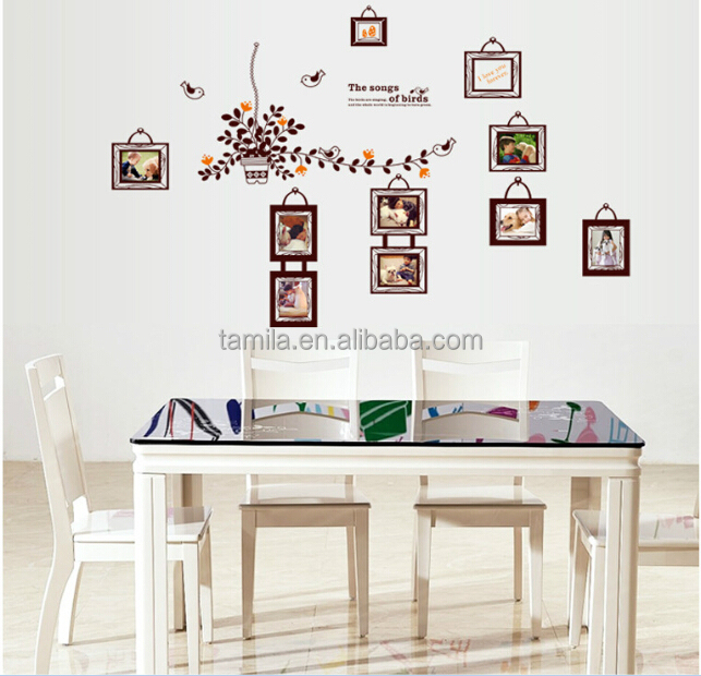 Large size Removable Photo Frame Wall Sticker