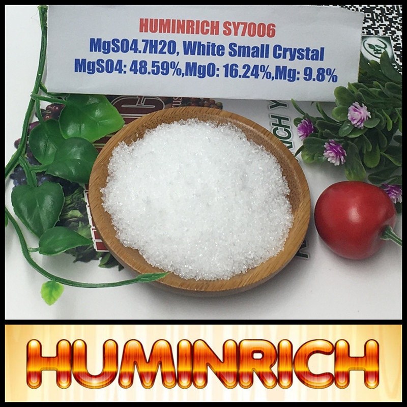 Huminrich Kieserite Fertilizer Magnesium Sulfate Heptahydrate Mgso4 7h2o