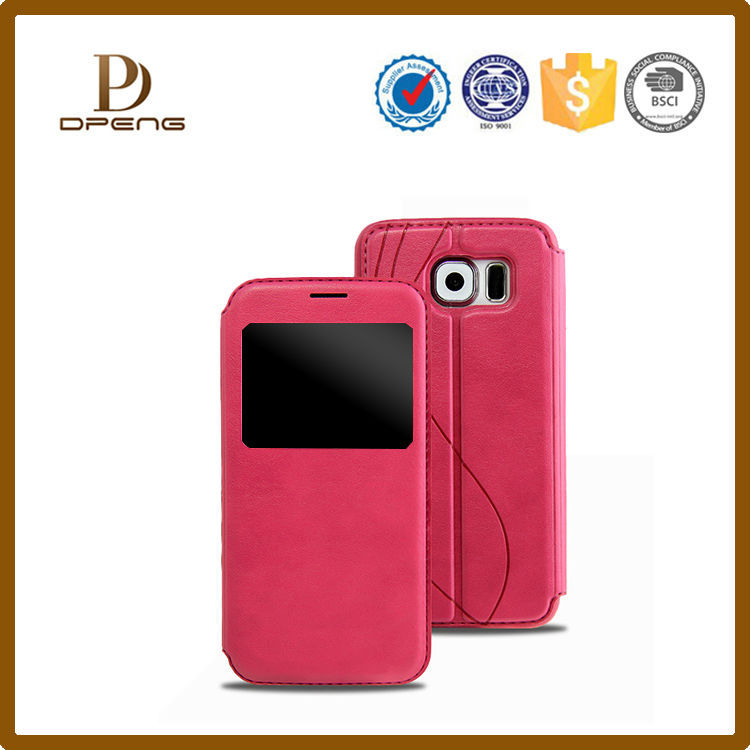 Hot sale China product genuine leather mobile phone case for lenovo s820