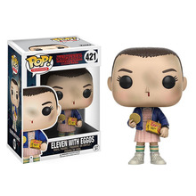 No.421pop Stranger Things tv funko Eleven action figures PVC toys