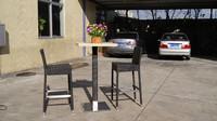 WF2121-66 outdoor rattan bar table set