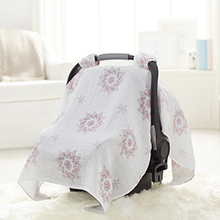 A105 Multi-color China Supplier Infant Stroller Cover, Nursing Cover Cheap Muslin Baby Like Car Seat Covers