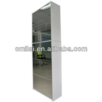 5 Rack mirror shoes cabinet