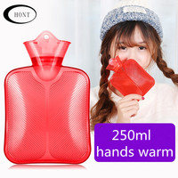 250ml pvc hand warmers hot water bag