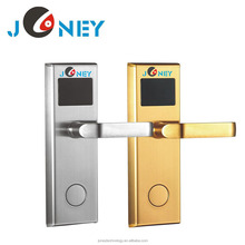 RFID card hotel lock with smart card and free hotel door lock management software system