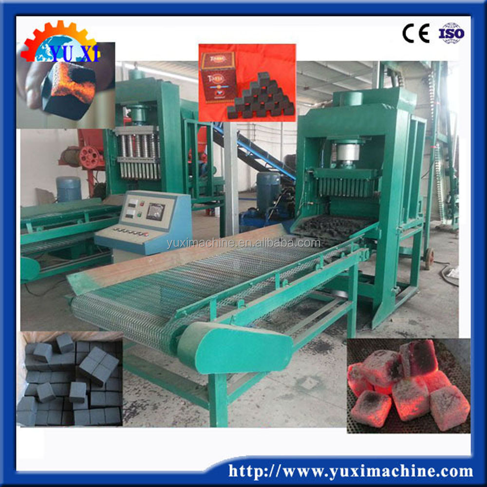 2017 HOT! hydraulic wood/agro waste/rice husk charcoal powder briquette making machine