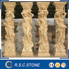Good price marble statue, lady statue for hot sale