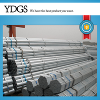 top product q195-q235 pre galvanized pipe/ tube erw steel tube gals