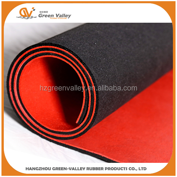 Certified recycle outdoor rubber carpet matting roll