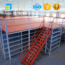 Letuo 2017 New design adjustable modern warehouse multi tier mezzanine rack with Long-term Technical Support