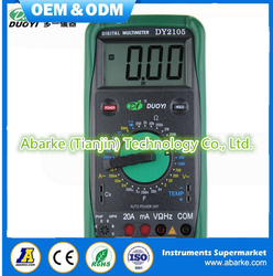 Good quality Mechanical protection Digital Multimeter DY2105