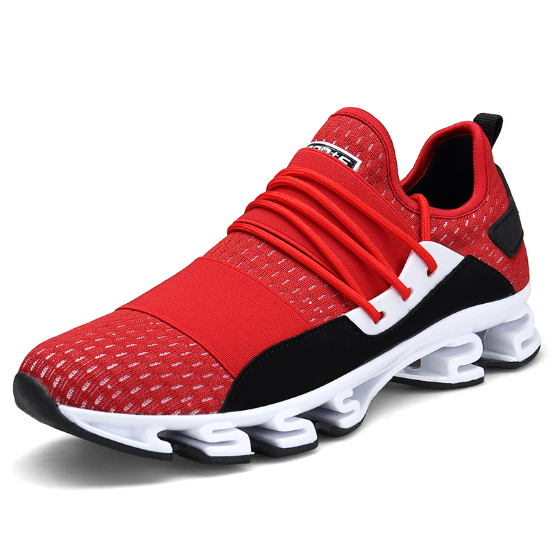 fbedc4a595 2018 Men Casual Breathable Running Shoes Outdoor Athletic Easy Walking  Training Fashion Sneakers