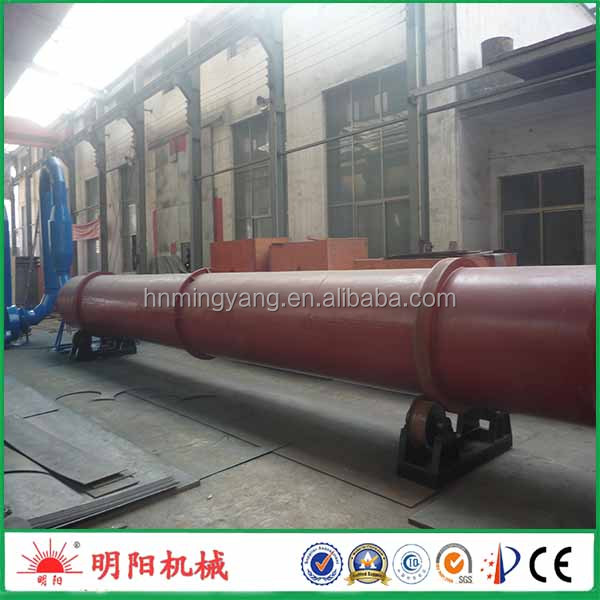 Hot sell rotary drum type sawdust dryer supplier for drying wood chips