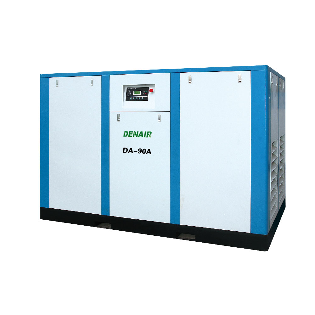 90kw 120hp Belt driven screw air compressor