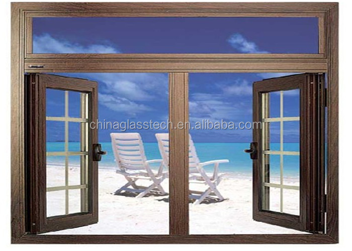 Size customized cheap house prefabricated windows and for Cheap home windows