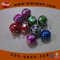 Decorative colored aluminum foil for chocolate packing