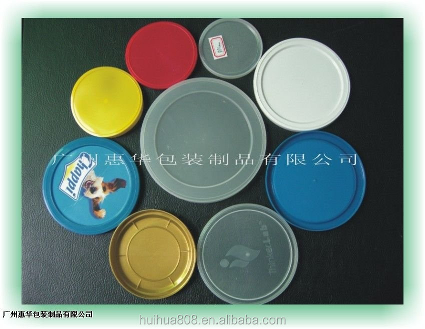Colorful Printing PET food can cover