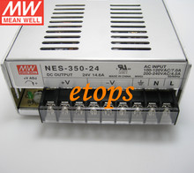 Meanwell Switching Power Supply NES-350-24 Single Output 350W 14.6A 24V AC to DC Transformer UL Listed SMPS7 Design