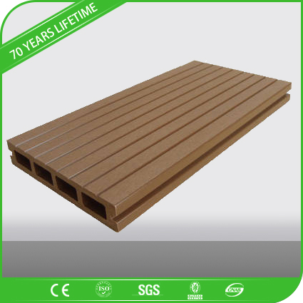 JFCG weatherproof outdoor decking wpc flooring with longer lifetime and lower cost