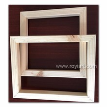 High quality pine wood painting inner frame stretcher bar