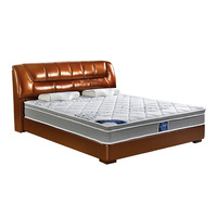 5 star hotel furniture compress double 7-zone pocket coil spring mattress