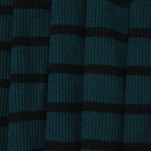 Rib cotton yarn dyed fabric used for skirts / woman's skirts fabric / cotton 4x3 Rib fabric 225gsm