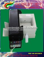 Automatic cd printer with 50pcs cd tray for CD/DVD printing and with pvc card tray for pvc printing