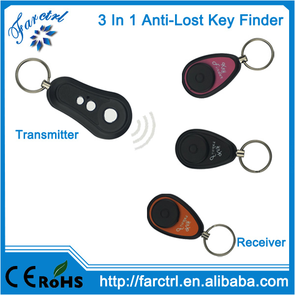3 in 1 Wireless Remote Control Key Finder Electronic Keychain From China Manufacturer