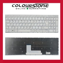 For Toshiba Satellite L50 L50-B L50D-B L50DT-B L50T-B SP White Spanish layout keyboard Teclado AEBL1500120
