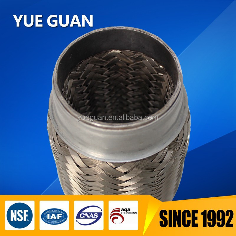 Performance muffler Exhaust flexible joint