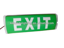 IP65 T5 2* 8W Emergency Bulkhead Lighting with exit sign