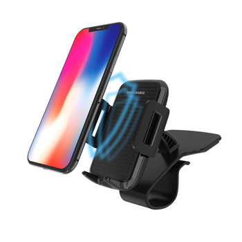 QI 2018 fast Mobile Phone car wireless charger usb pore