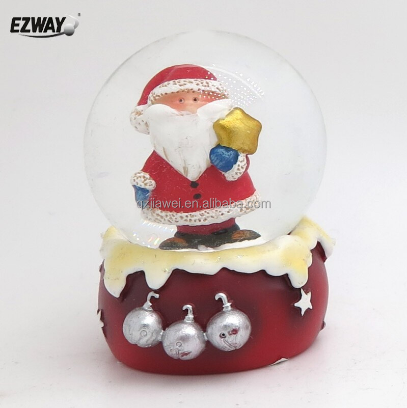 Christmas Decoration Design Water Electronic Snowman Snow Globe