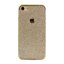 Fancy Design Bling Glitter Silicone Cell Phone Case For IPhone 5 6 7 8 Plus X