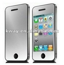 Mirror Film Screen Guard Protector for iPhone 4 4S KPT005