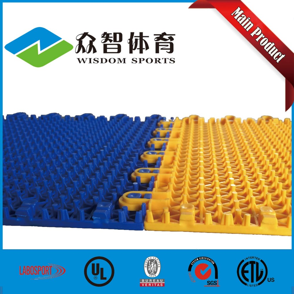 2016 Top sale table tennis football basketball court resilient vinyl flooring