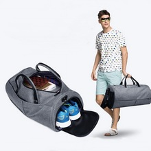 High quality duffel bag with secret compartment,gym sports travel bag for women and men