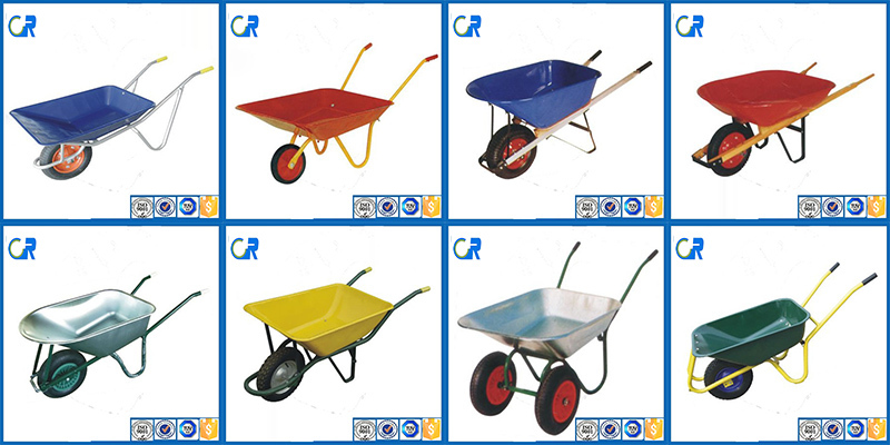 WB6414 Made in China rubber wheelbarrow handle