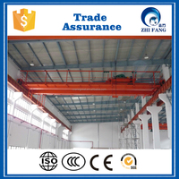 European Type Electric Double Girder Overhead Crane Directly Manufacturer