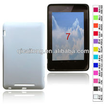 cellphone tpu case without texture for google nexus 7