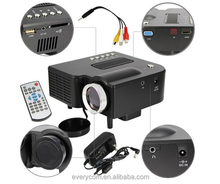 Cheap mini projector LED Portable mini multimedia Projector from original factory AV/VGA/USB/SD