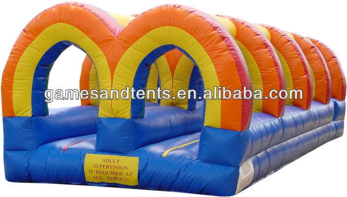amusement inflatable slip and slide for adults A4045