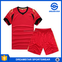 Red Sports Training Set Custom Thai Quality Cheap Soccer Jersey