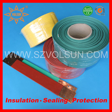 Tracking resistant flexible 1000v bus bar heat shrinkable sleeve