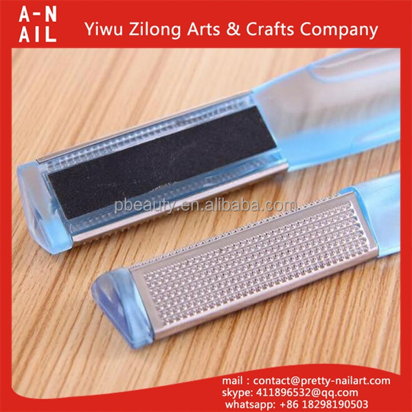 HIgh quality double side dead skin remover sandpaper foot file callus remover