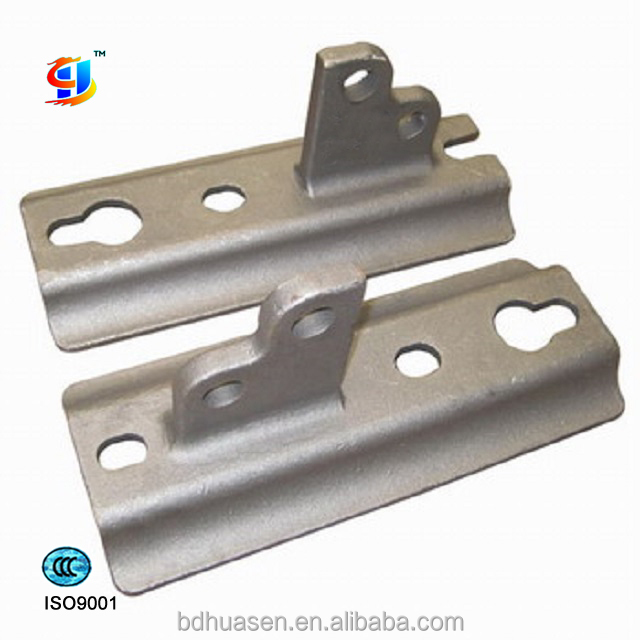 OEM steel alloy water glass casting part // agricultural machinery part // bracket
