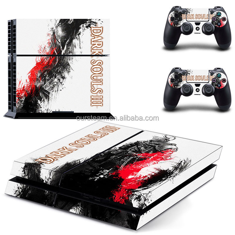 Skin Sticker For PS4 (For Playstation 4) Game Pad Controller And Console