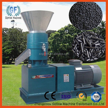 Flat film extrusion granulator for fertilizer production