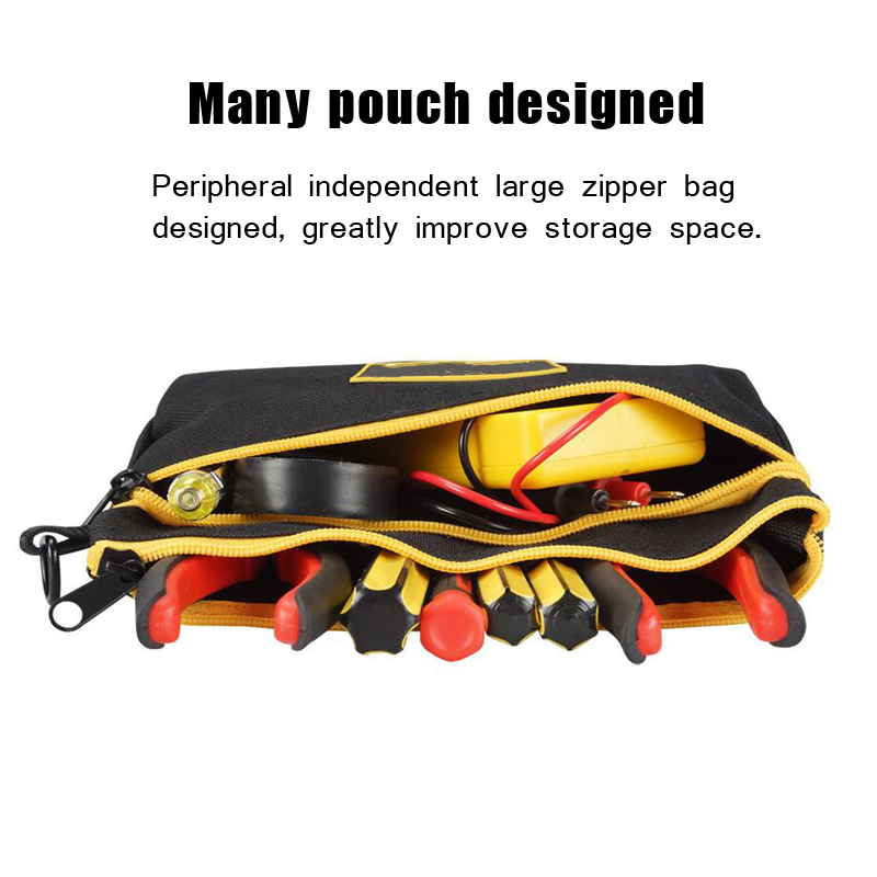 Multifunctional parts mini tool bag pouch