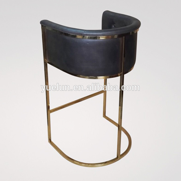 Hot sale factory direct price gold bar stools with best service and low